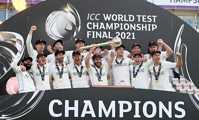 New Zealand winning world test championship