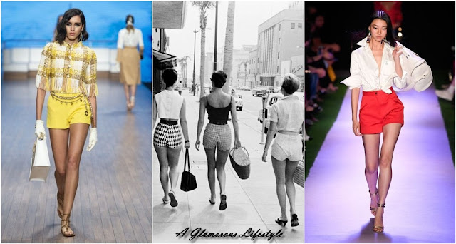 shorts stile anni 50