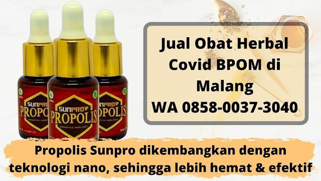 Jual Obat Herbal Covid BPOM di Malang WA 0858-0037-3040