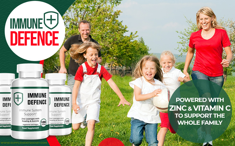 immune defence vitamin c and zinc based supplement