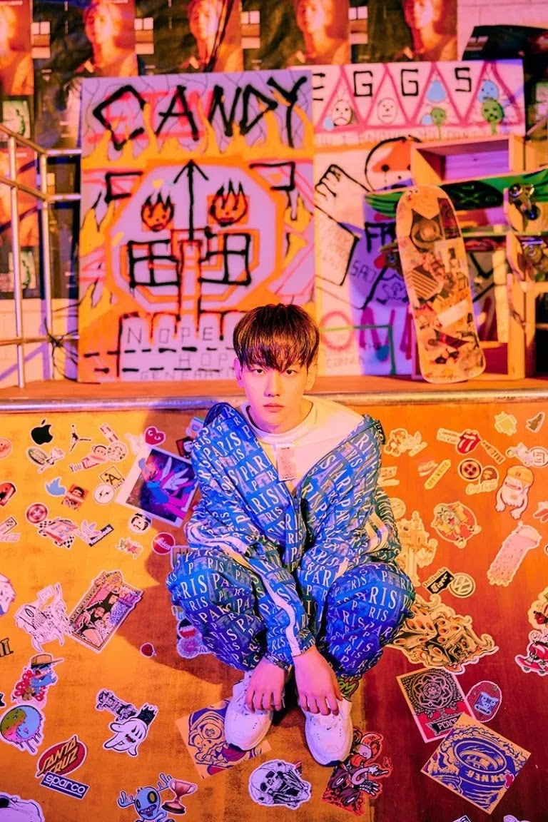 EXO's Baekhyun Show Cool Choreography on 'Candy' MV Teaser