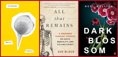 Short reviews of Figuring by Maria Popova / All That Remains by Sue Black