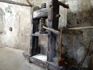 アマルフィのMuseo della Cartaの機械