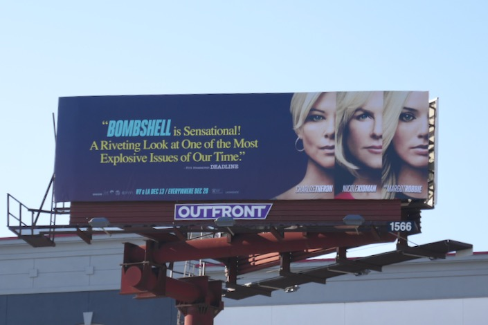 Bombshell sensational billboard