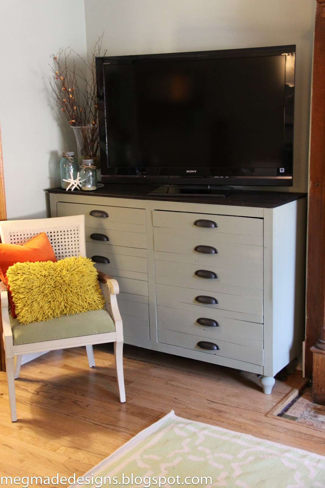 Fantastic Ikea meets Vintage Printer's Cabinetwhat what! - **MegMade** SE11