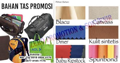 Jenis Bahan-bahan untuk pembuatan tas promosi / souvenir