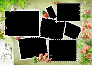 Molduras para fotos digitais