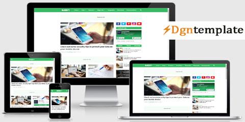 Buzzify Free Responsive Blogger Template-dgntemplate