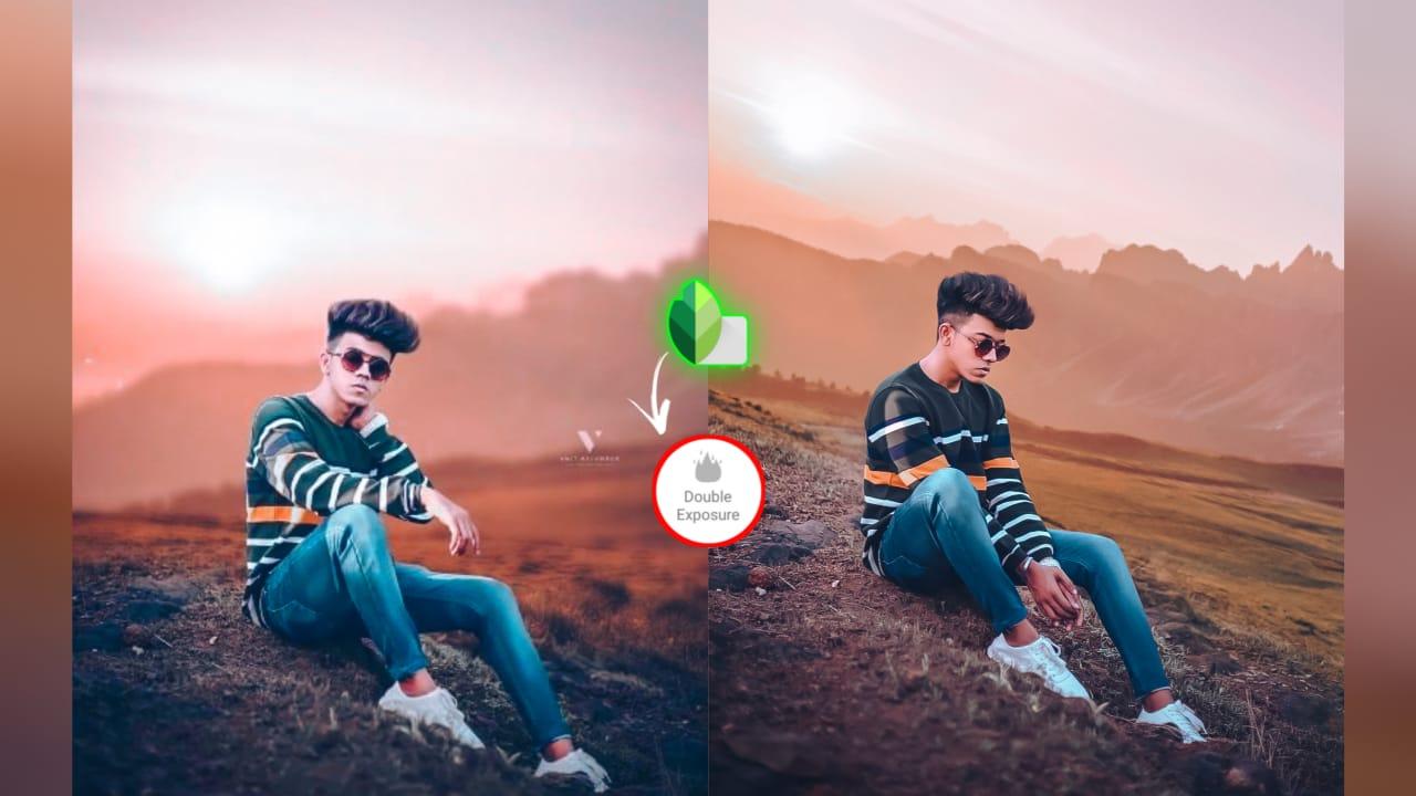 Snapseed editing photo