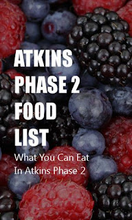 ATKINS DIET FOODS AND RECIPES