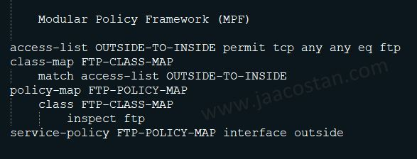 Cisco Modular Policy Framework (MPF) : A brief Introduction ~ Jaacostan