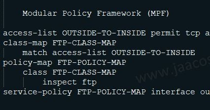 Cisco Modular Policy Framework (MPF) : A brief Introduction