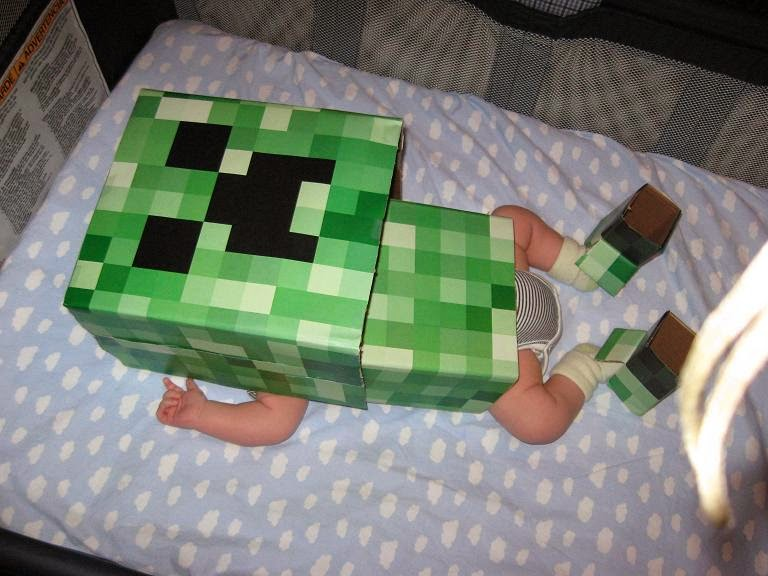 Minecraft Baby Halloween Costume