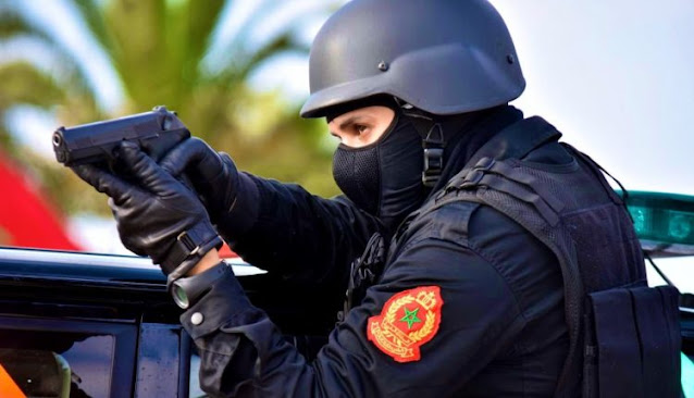 توقيف شخص لارتباطه بشبكة إجرامية تنشط في التهريب الدولي للمخدرات وحيازة السلاح الناري