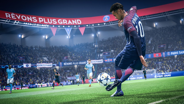 FIFA 19 Game tích hợp UEFA Champions League 2018