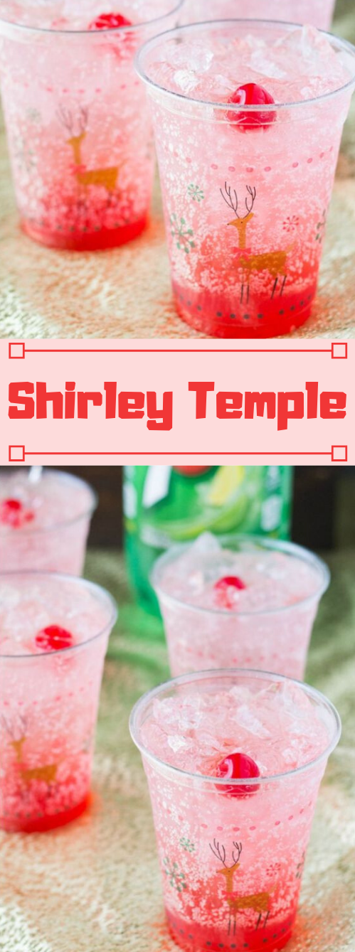 Shirley Temple Recipe #drink #recipes #cocktail #sangria #smoothie