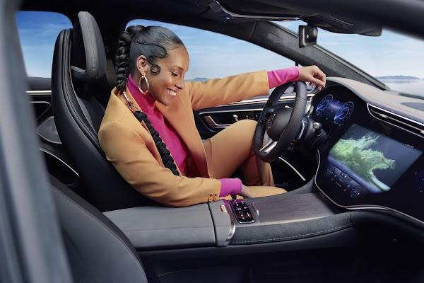 Mercedes-Benz EQS é o novo topo de gama elétrico da marca