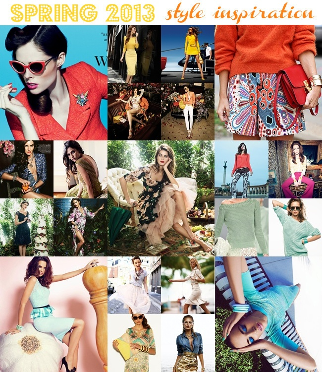 best spring style inspiration, fresh spring outfit ideas and looks