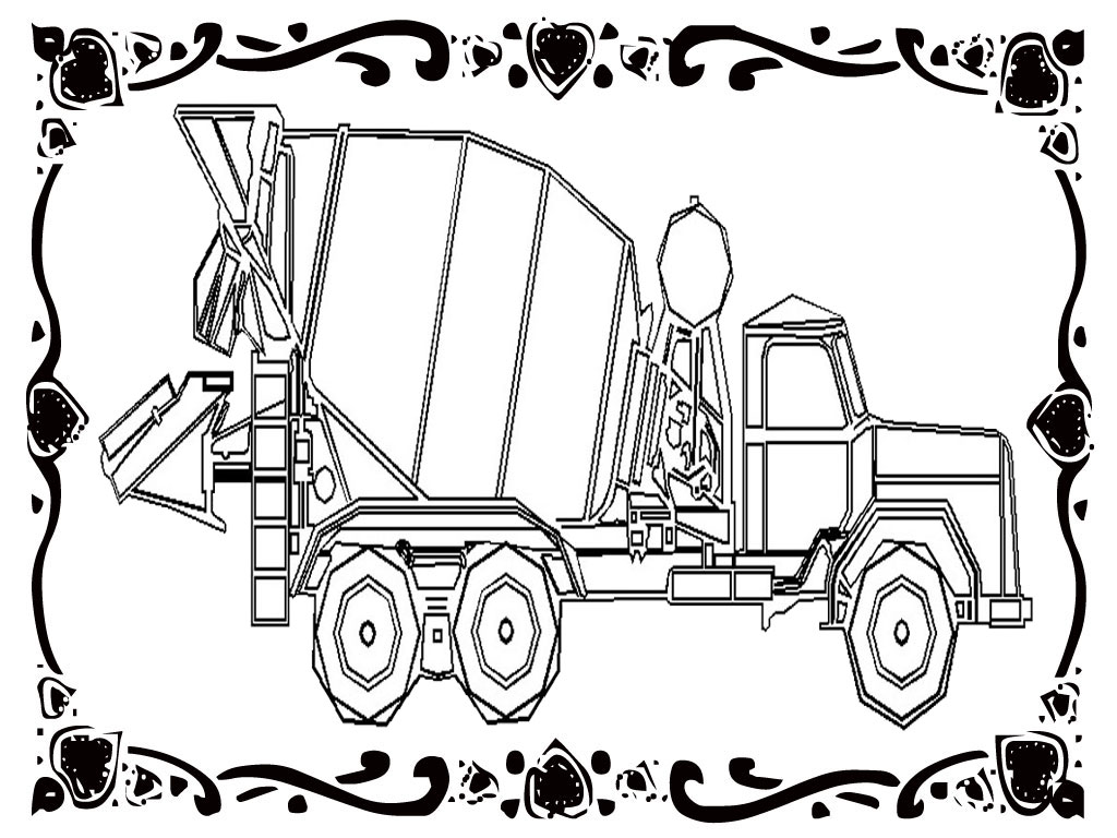 construction vehicles coloring pages realistic coloring pages. Black Bedroom Furniture Sets. Home Design Ideas
