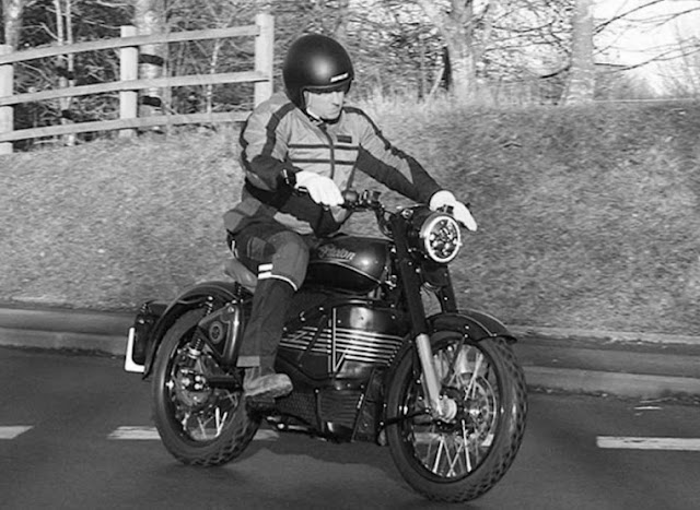 Royal Enfield has working eletric photon motorcycle.