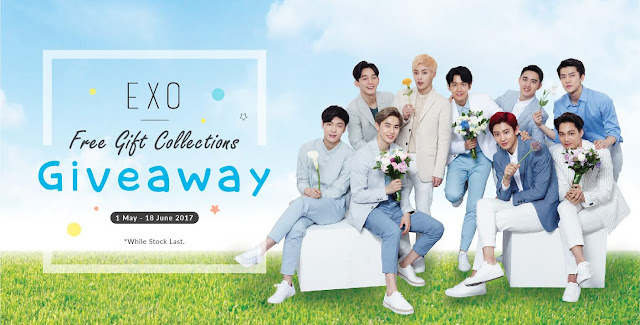 Nature Republic Malaysia EXO Free Gift Collections Giveaway