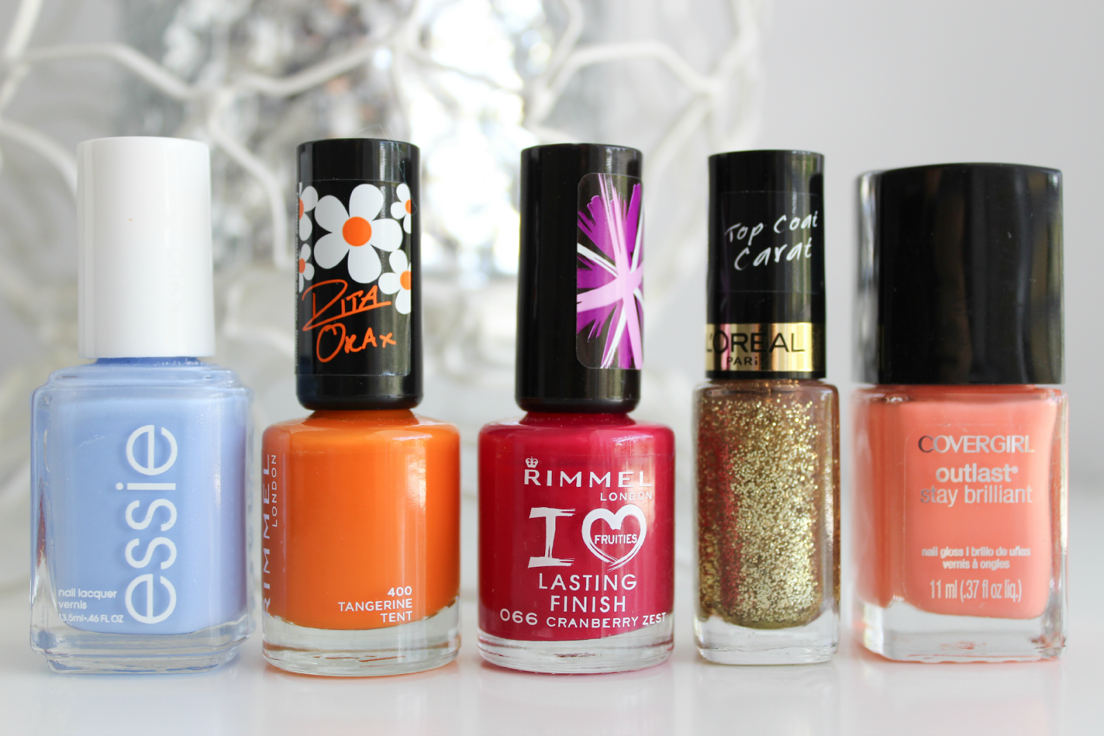 5 Bright & Summery Nail Colours To Enjoy | Cate Renée