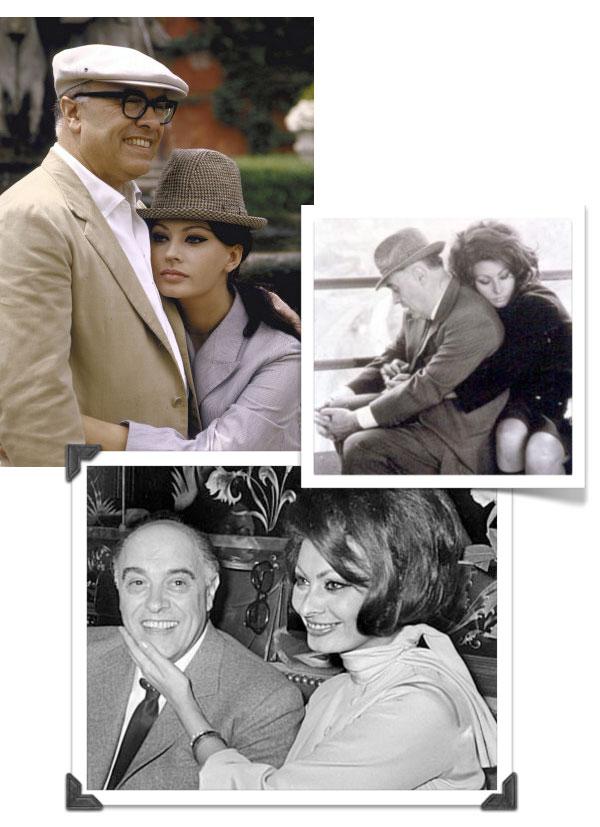 {great love story № 17 | carlo ponti & sophia loren}