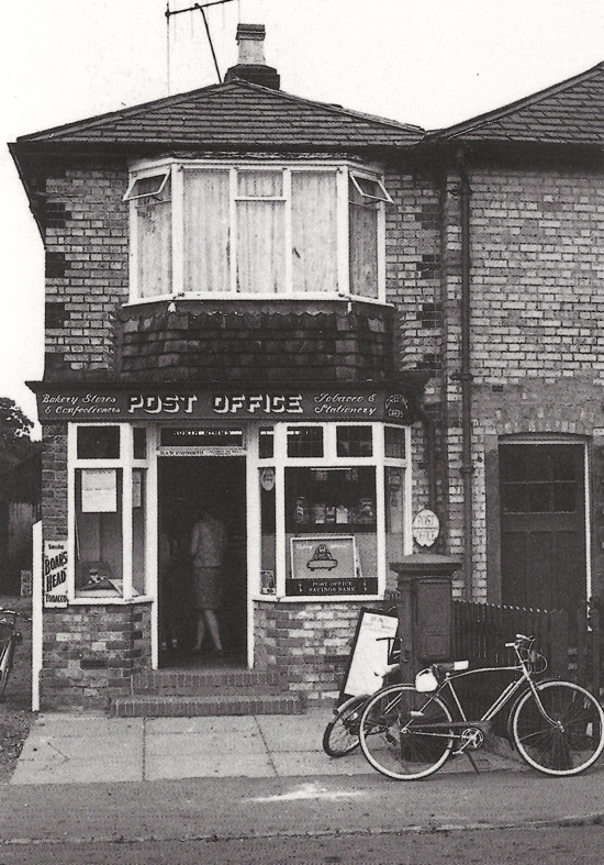 Photograph of North Mymms Post Office, Dellsome Lane 1967 The Post Office was originally in Holloways Lane