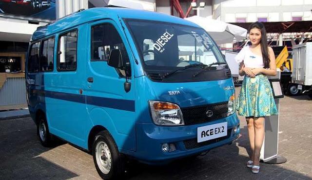 Angkot TATA model ACE EX2