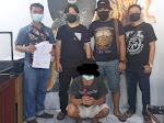 Terduga Penggelapan Barang Variasi, Ditangkap Maleo Polda Sulut di Mapanget