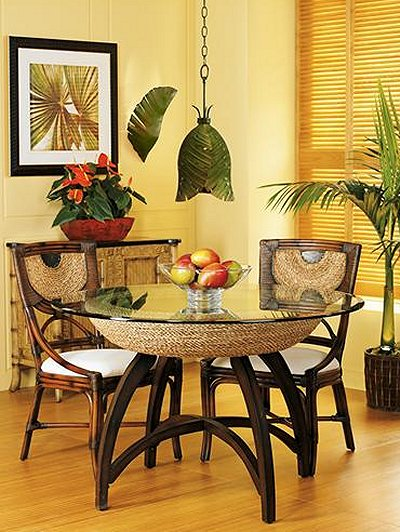Decorating theme bedrooms maries manor tropical beach for Tropical themed kitchen