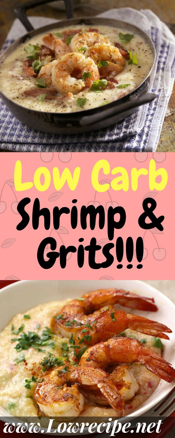 Low Carb Shrimp & Grits