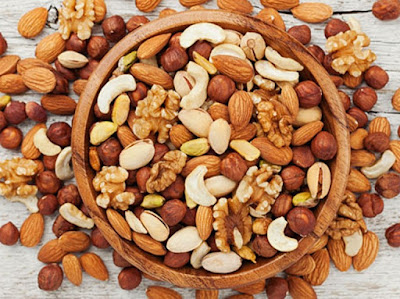Health benefits of nuts, antiageing