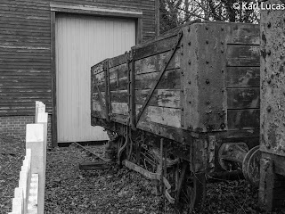 Goods shed coal wagon decay Blists Hill