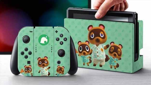 Sorteio do Nintendo Switch Edição especial Animal Crossing