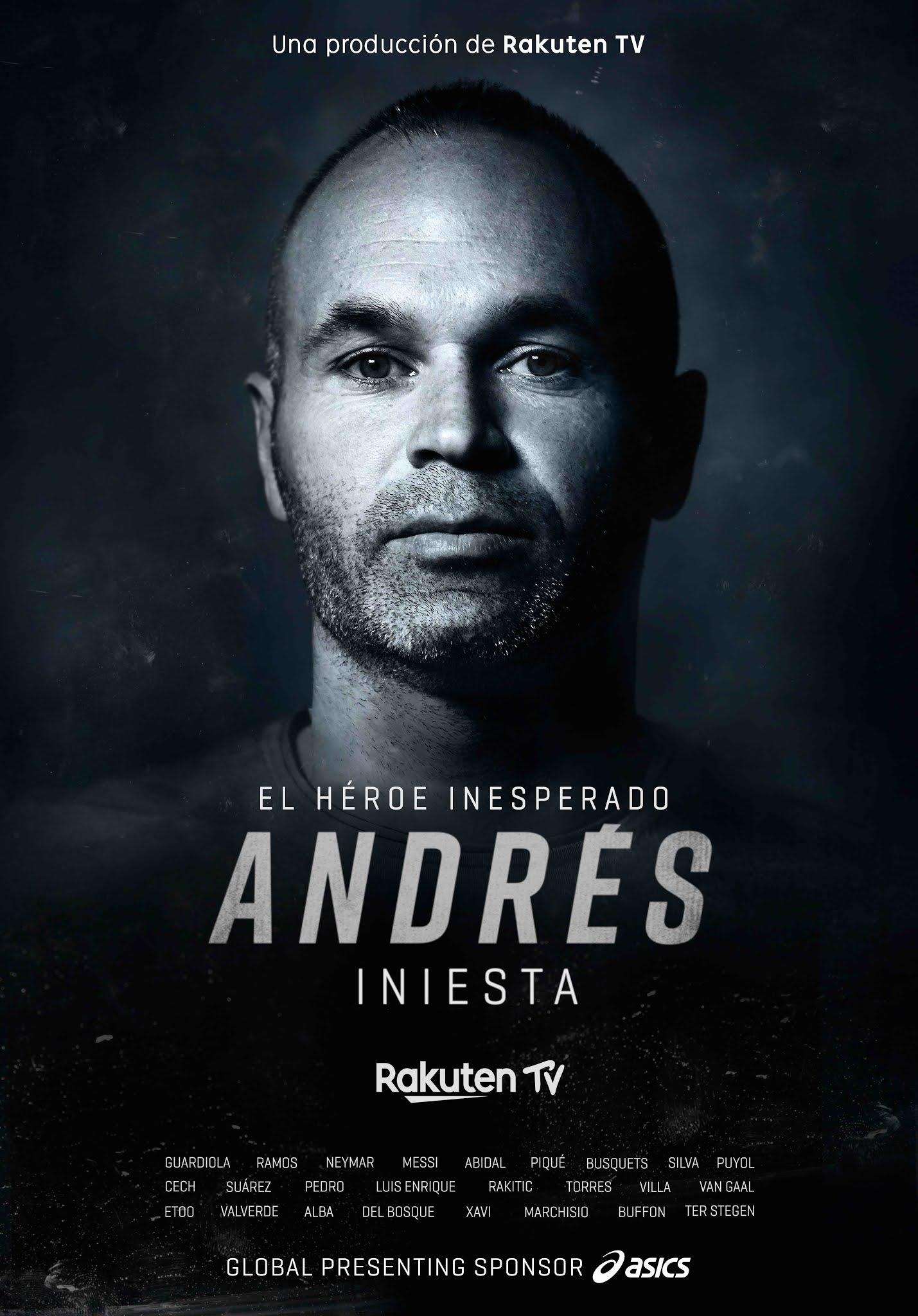 """DIRECTV nos trae la vida y obra de Don Andrés Iniesta, """"El Héroe Inesperado"""""""