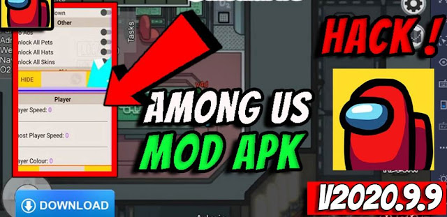 Download Mod APK Among Us dan Cheat Terbaru 2020