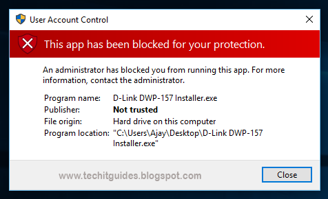Windows 10 App Installation Blocked Error.png