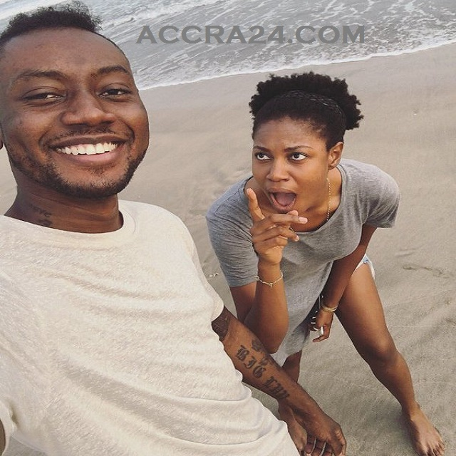 Yvonne Nelson in LOVE with Rapper Pappy Kojo