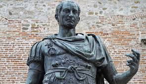 Caesar's ambitious designs on power were behind his programme of conquests in Europe