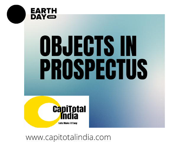 Variation In Terms of Contract Or Objects In Prospectus