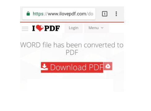 word ke pdf di ilovepdf.com