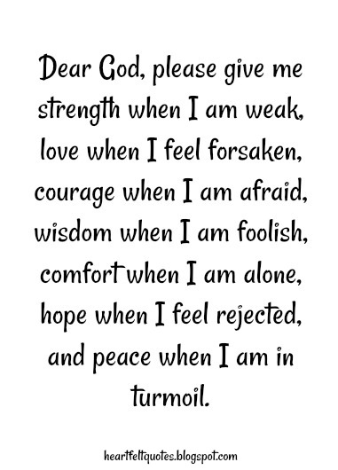 10 prayers for strength during difficult times. | Heartfelt ...