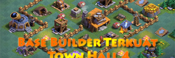 Base Builder Malam Terkuat Town Hall 4