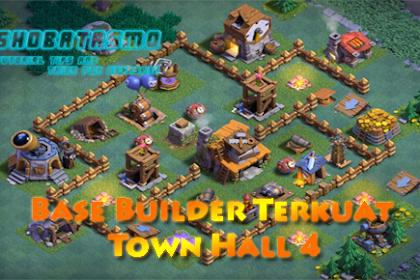 Base Builder Malam Terkuat Town Hall 4