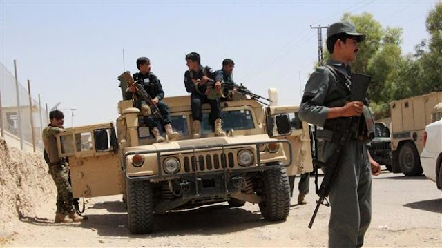 Afghan authorities seize truck with 16 tons of explosives in Kabul