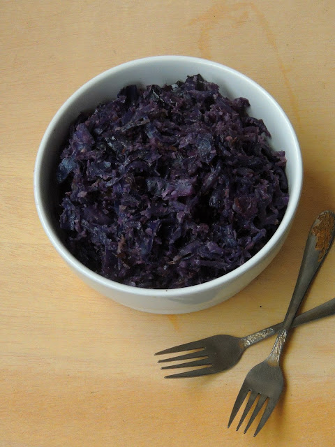 Kerala Purple Cabbage Thoran