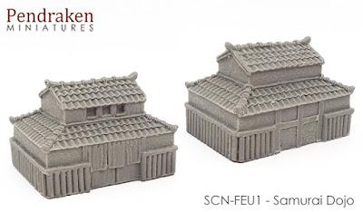 SCN-FEU1 Samurai Dojo picture 1