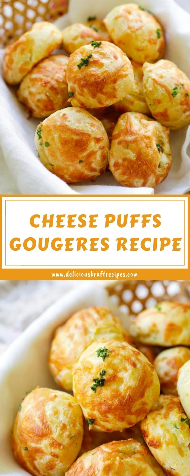 CHEESE  PUFFS GOUGERES RECIPE