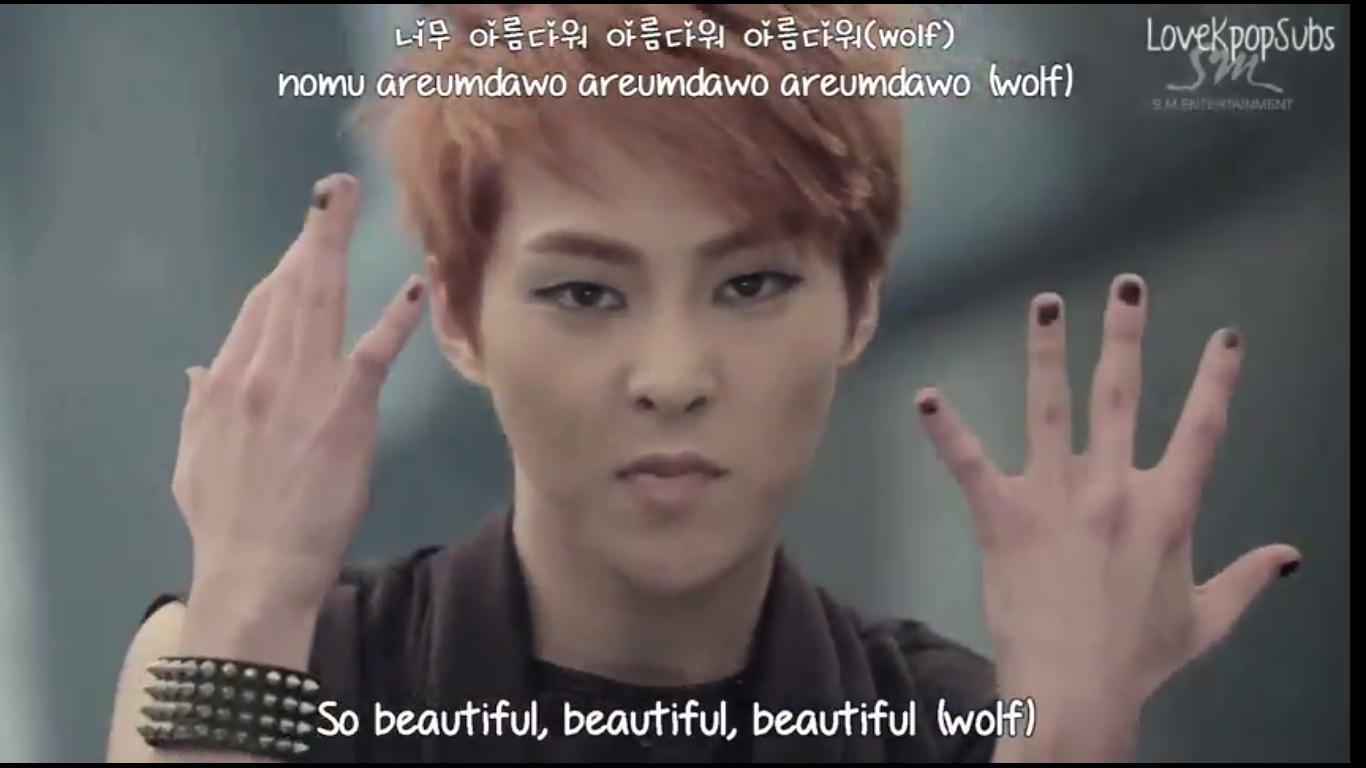 rieonew: REVIEW MV + LAGU EXO-WOLF